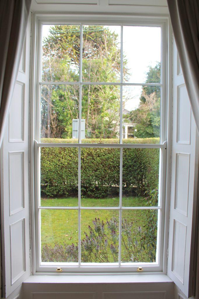 Sash window renovation Dublin - after