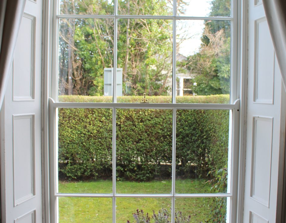 Sash window renovation Dublin - after