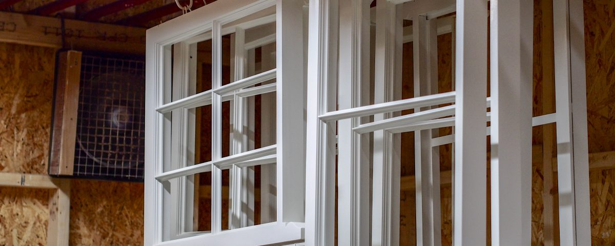 Sash window painting Timeless