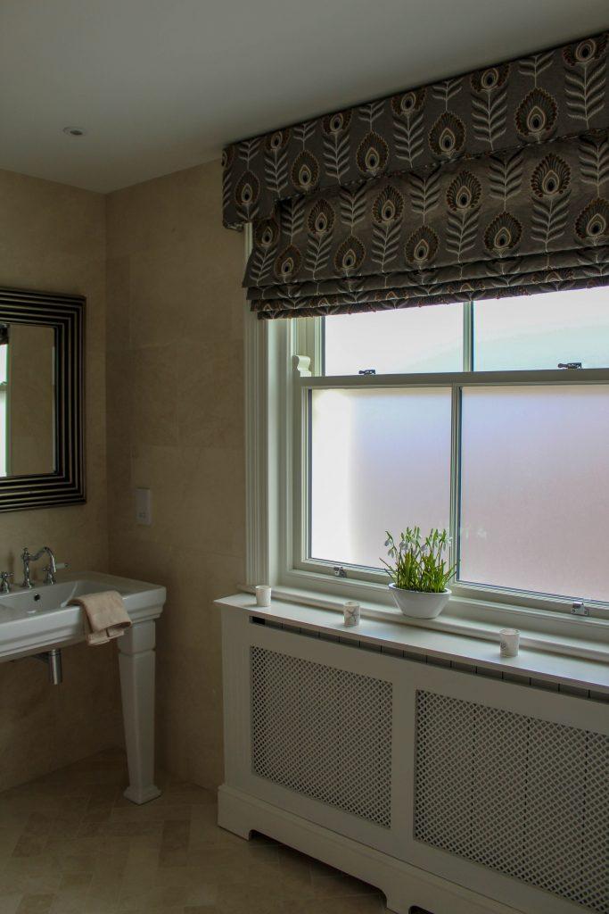 Bathroom sash windows