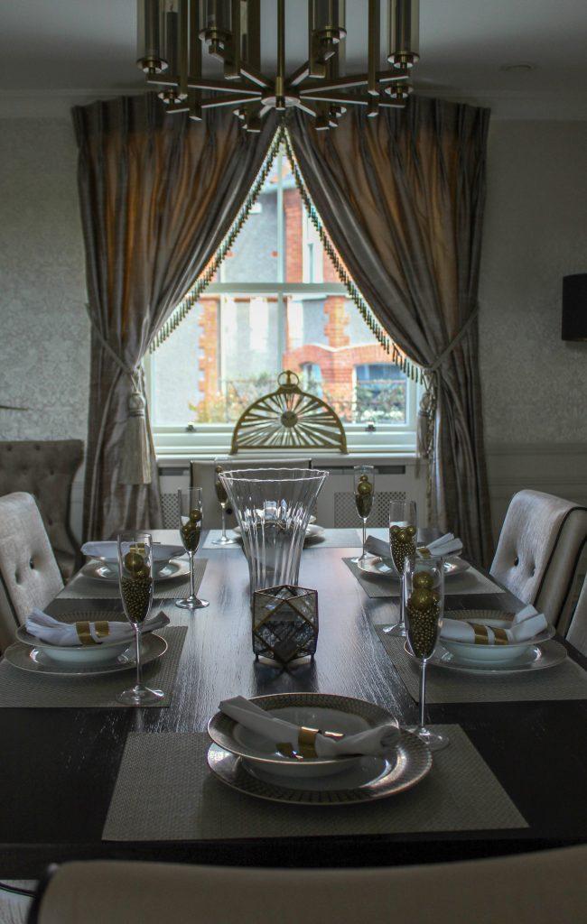 Dining room sash windows