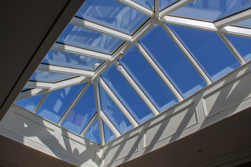 Timber rooflight