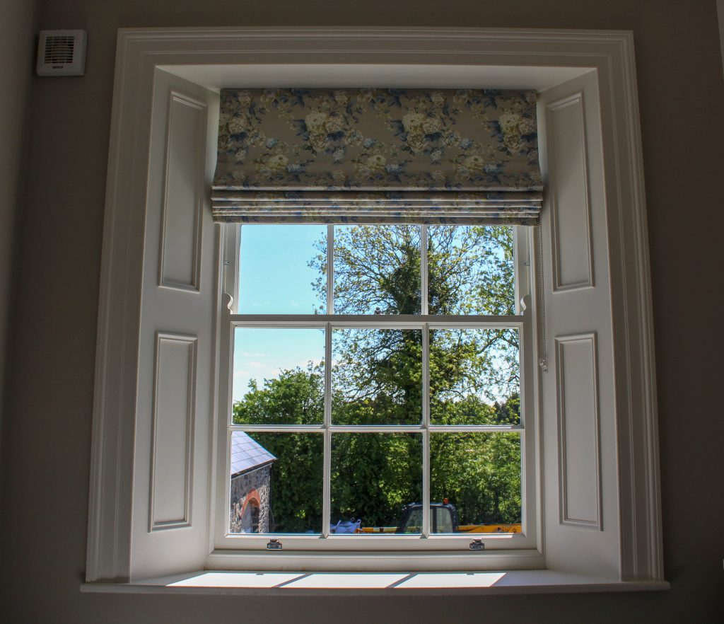 Bedroom sash window