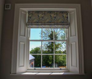 Bedroom sash window