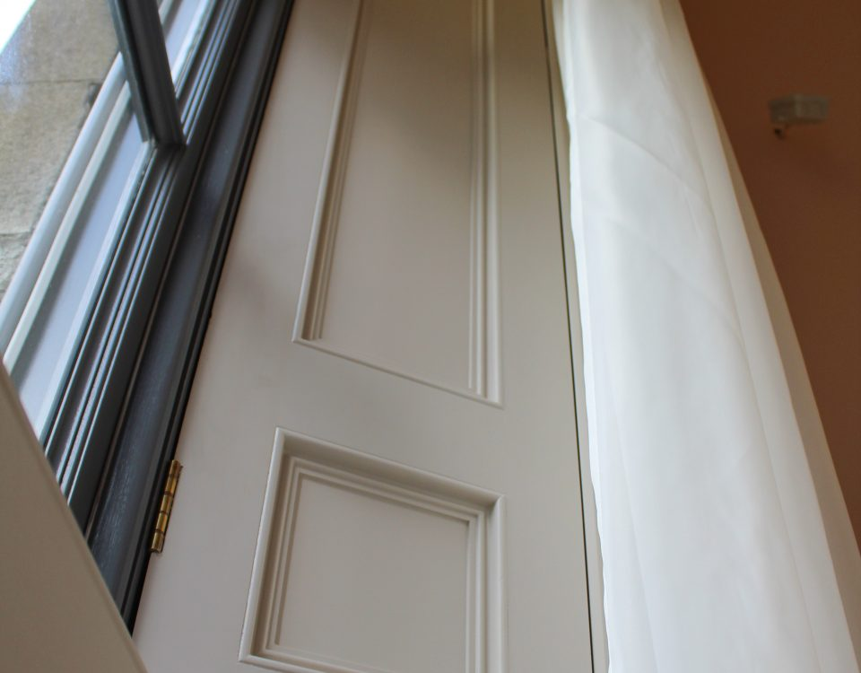 Shutters, architraves, panels