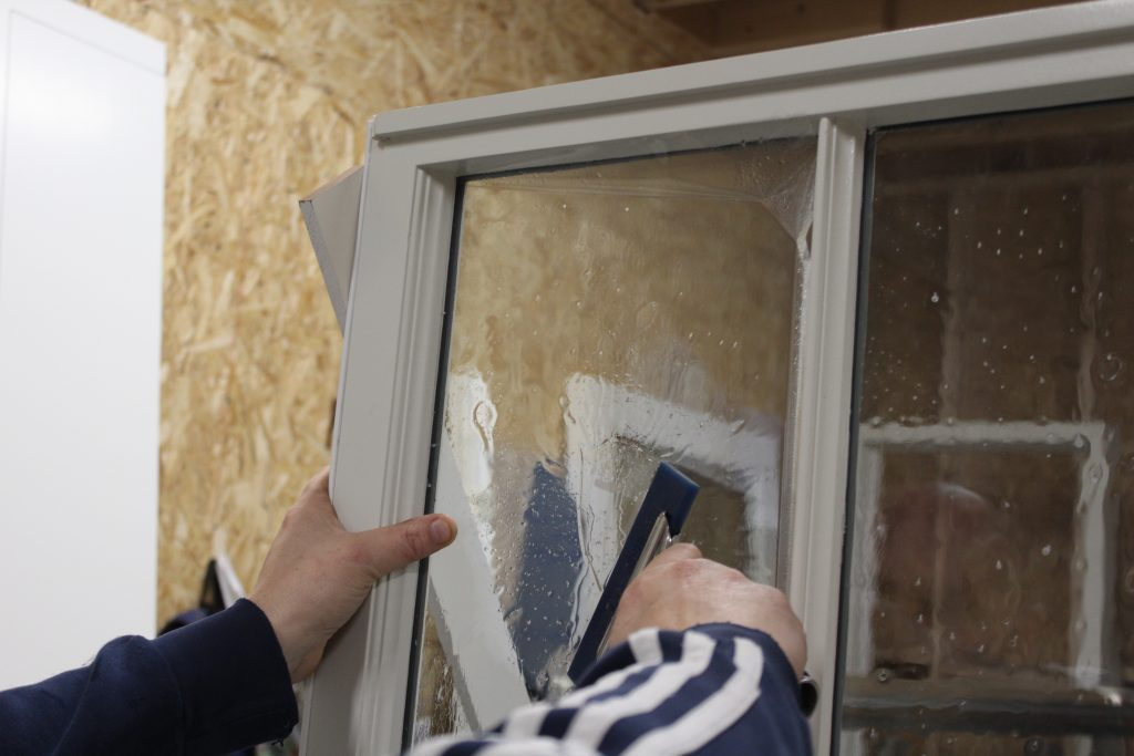 UV protective film for windows