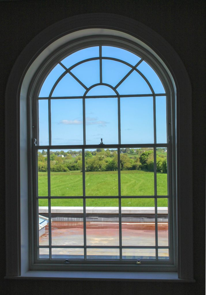 New arched window