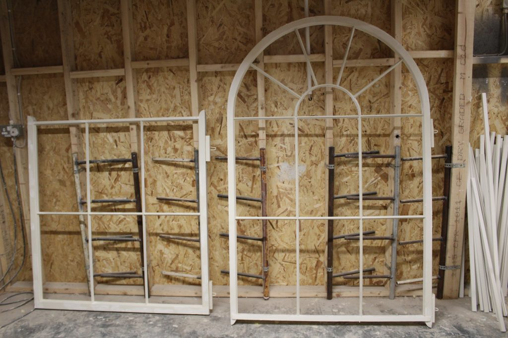 refurbshing old arched windows