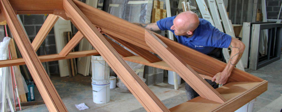 making timber windows