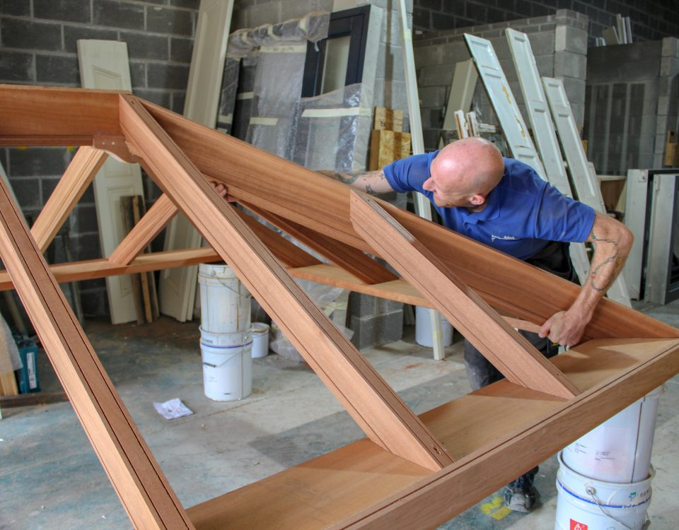 making timber windows