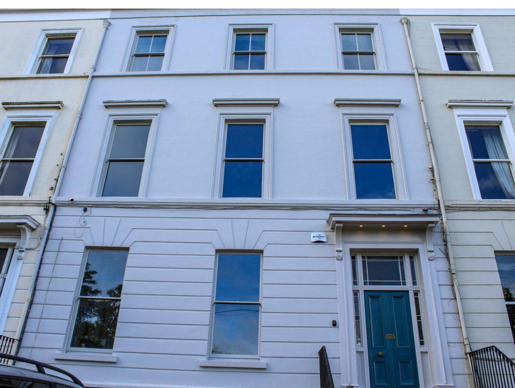 Victorian restoration - front facade
