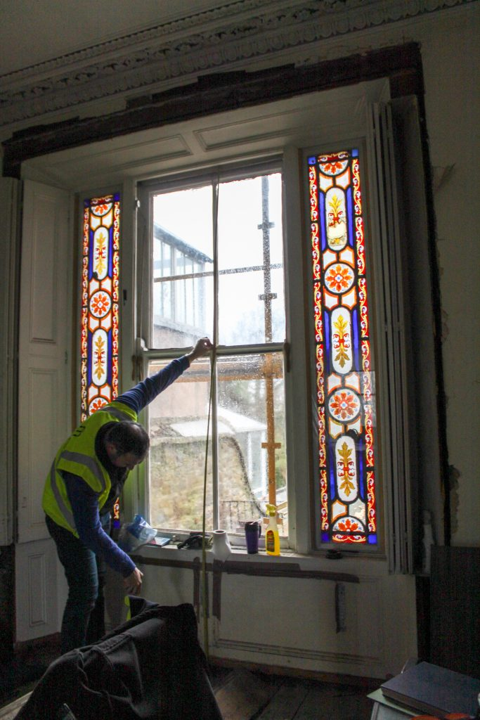 Measuring window to convert to door