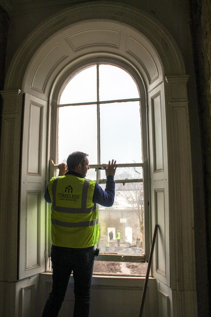 Surveying sash windows