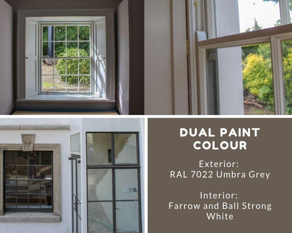 choosing window frame colours