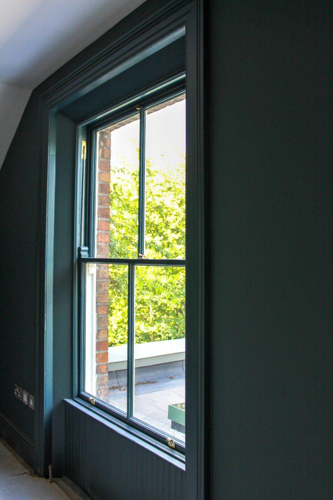 painting window frames