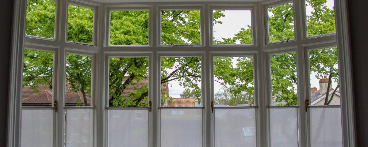 side hung casement window